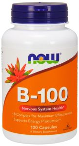 WITAMINA B KOMPLEKS B100 B-100  100kap NOW FOODS