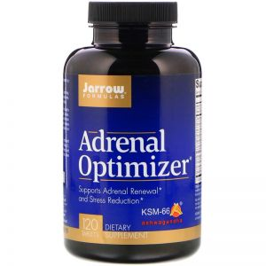 JARROW ADRENAL OPTIMIZER ashwagandha GOTU ROŻENIEC 120 tab