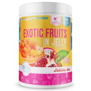 Allnutrition EXOTIC FRUITS IN JELLY owoce DŻEM
