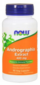 ANDROGRAPHIS ekstrakt 400mg 90kap NOW FOODS