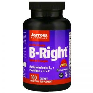JARROW FORMULAS B-Right WITAMINA B KOMPLEKS 100k