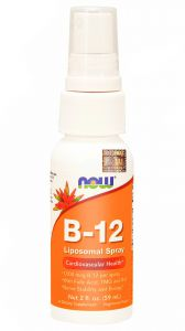 NOW FOODS WITAMINA B B12 B6 B12 TMG liposomalna 59ml