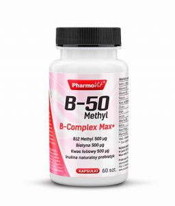 PHARMOVIT WITAMINA B-50 KOMPLEKS B Methyl