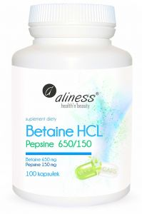 BETAINA HCL   PEPSYNA 650/150mh 100kpa ENZYMY  ALINESS
