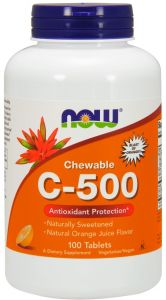 WITAMINA C C-500 100t DO SSANIA bioflawonoidy NOW FOODS