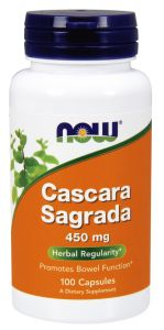 CASCARA SAGRADA 100k jelita ZAPARCIA NOW FOODS