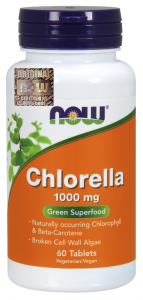 NOW FOODS CHLORELLA 1000mg 60 tab