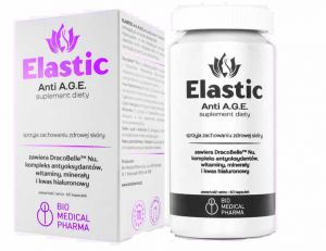ELASTIC Anti AGE hialuronowy CYNK selen Medical