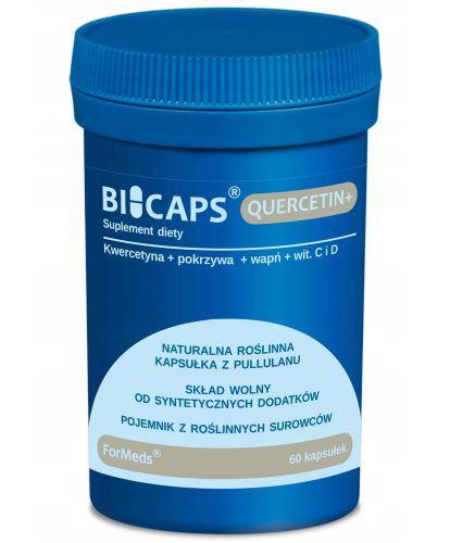 ForMeds BICAPS QUERCETIN+ Kwercetyna WITAMINA C D3