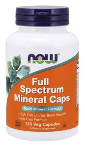 Now Foods FULL SPECTRUM MINERAL minerały+ jod + chrom + selen
