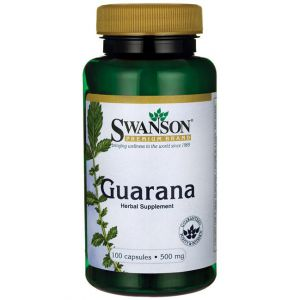 SWANSON Guarana 500mg 100 kaps