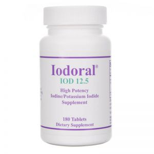 Optimox Iodoral® 12,5 mg - 180 tabletek JOD