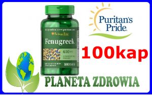 KOZIERADKA fenugreek 610mg BŁONNIK Puritan's Pride