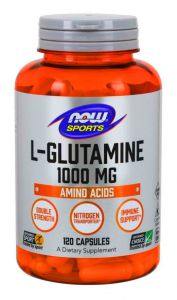 NOW FOODS  L- GLUTAMINA FORTE 1000mg 120kap