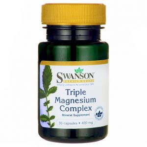 MAGNEZ TRZY FORMY  400MG 30kap TRIPLE MAGNESIUM COMPEX  SWANSON