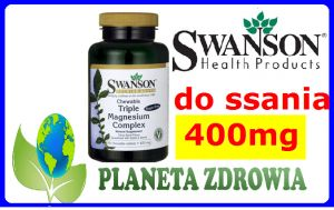 MAGNEZ TRIPLE MAGNESIUM Complex 400mg DO SSANIA SWANSON