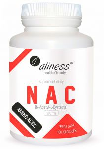 Aliness NAC N-Acetylocysteina L-CYSTEINA 500mg 100