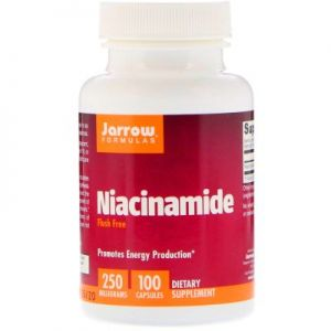 JARROW Niacynamid WITAMINA B3 B-3 250mg 100 kap