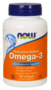 OMEGA 3 kwasy EPA DHA 1000mg Now Foods
