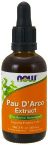 PAU D'ARCO LAPACHO EXTRACT KROPLE 60ml NOW FOODS
