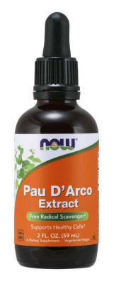 PAU D\'ARCO LAPACHO EXTRACT KROPLE 60ml NOW FOODS