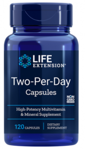 LIFE EXTENSION TWO-PER-DAY multiwitamina 120 kaps