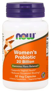 NOW Foods PROBIOTYK Women\'s 20 billion 50 kaps