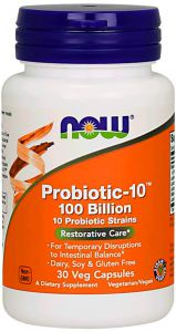 NOW FOODS PROBIOTIC-10 100 BILLION PROBIOTYK mocny
