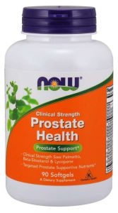 NOW Foods PROSTATE HEALTH palma DYNIA cynk