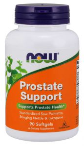 NOW Foods PROSTATE Support palma DYNIA cynk 90 kaps.