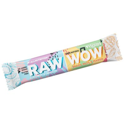 Allnutrition RAW WOW BAR Baton DWA SMAKI Vegan