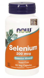 NOW FOODS SELEN organiczny 200mcg SELENOMETIONINA
