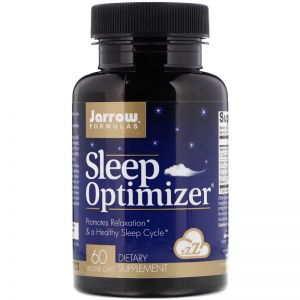 JARROW SLEEP OPTIMIZER sen RELAKS melatonina 60kap