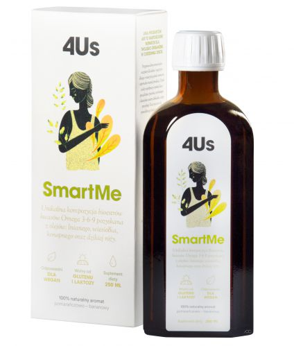 HealthLabs SmartMe 4Us Omega-3-6-9 witamina A E D3 250ml