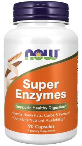 NOW Super Enzymes ENZYMY trawienne BETAINA