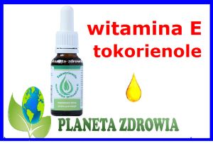 WITAMINA E TOKOTRIENOLE krople naturalne z palmy Proved