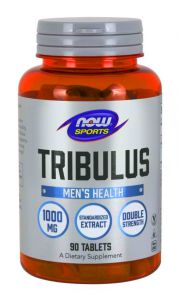 NOW Foods TRIBULUS BUZDYGANEK seks LIBIDO 1000mg 90tab