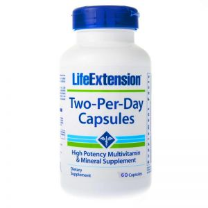 LIFE EXTENSION TWO-PER-DAY multiwitamina 60 kaps