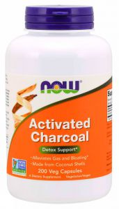 Now Foods Activated Charcoal WĘGIEL AKTYWNY 200kps