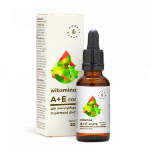 AURA HERBS WITAMINA A + E FORTE krople 30ml czyst